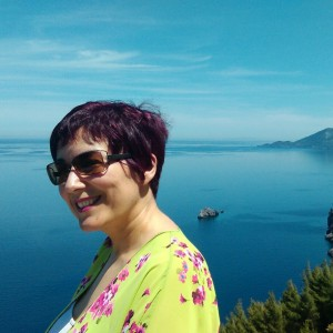 Chrisoula in Evia Island May 2015