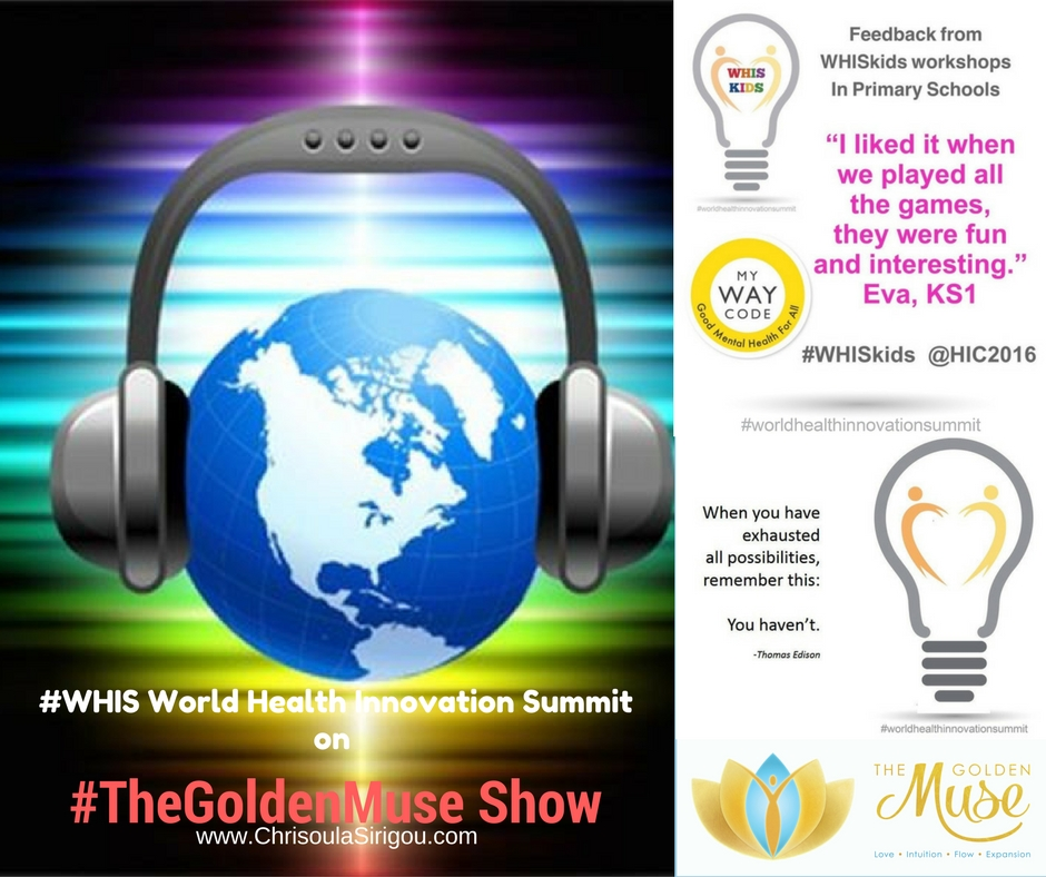 TheGoldenMuse Show #WHIS