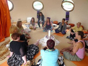 Yoga at Peace Pod 12.08.2014