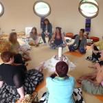 Yoga at Peace Pod 12.08.2014