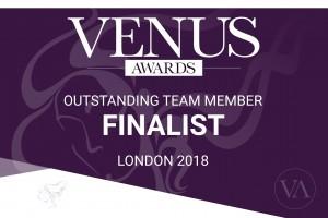 Venus Award Finalist Outstanding Team Member