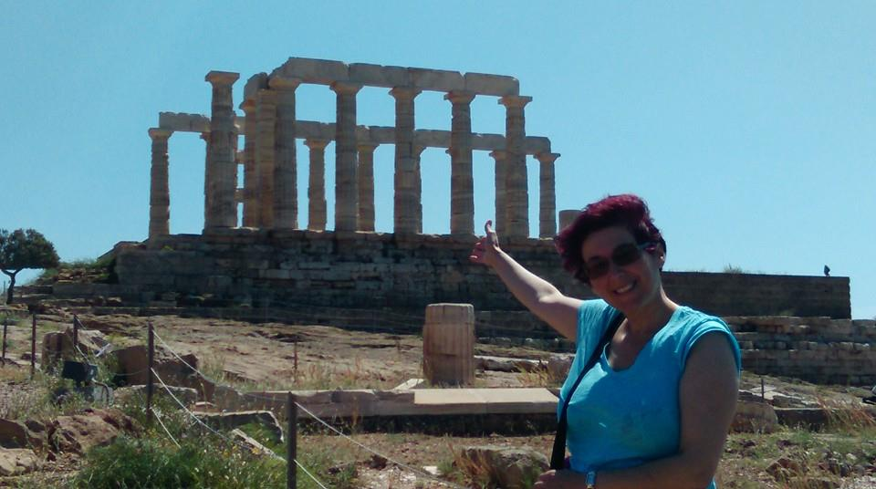 Chrisoula in Sounion