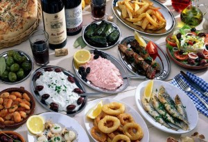 mezethes Greek food