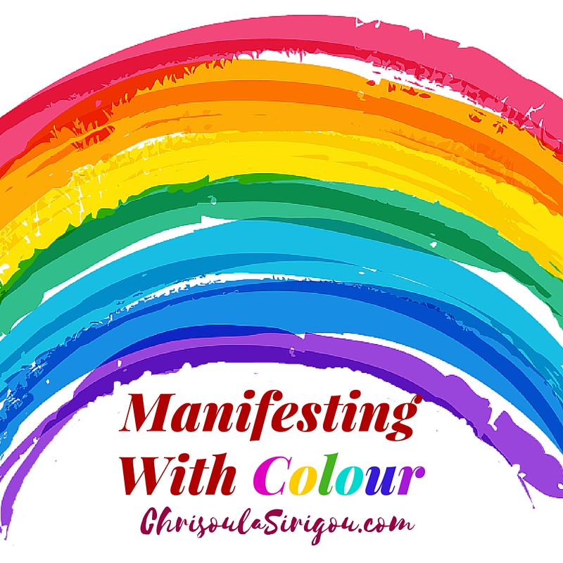 rainbow manifesting with colour
