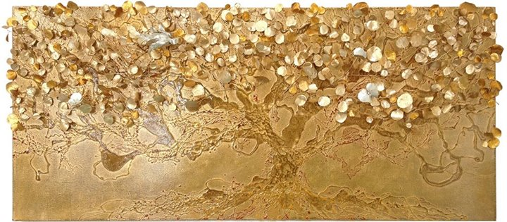 Gold tree of prosperity