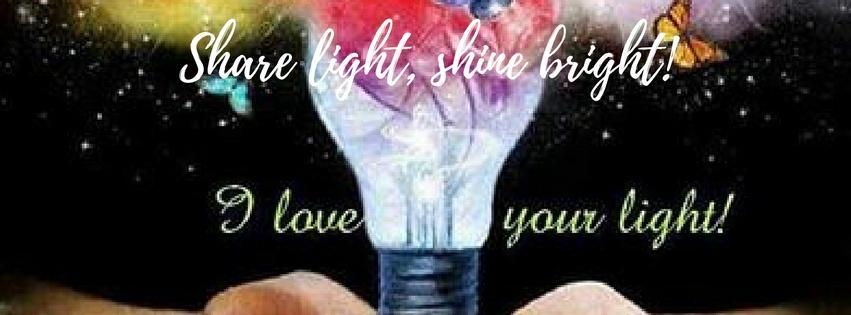 Share light, shine bright!