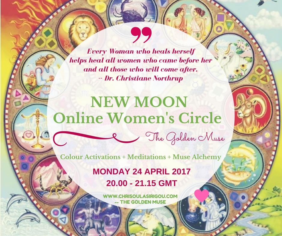 NEW MOON April Women's Circle