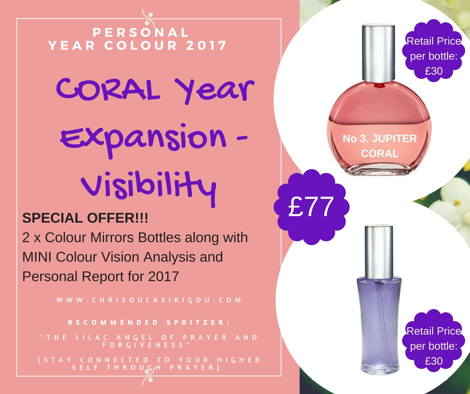 CORAL YEAR SPECIAL OFFER