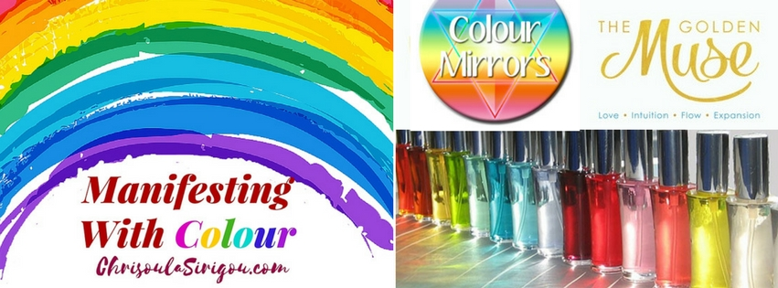 MANIFESTING WITH COLOUR AND LOGO