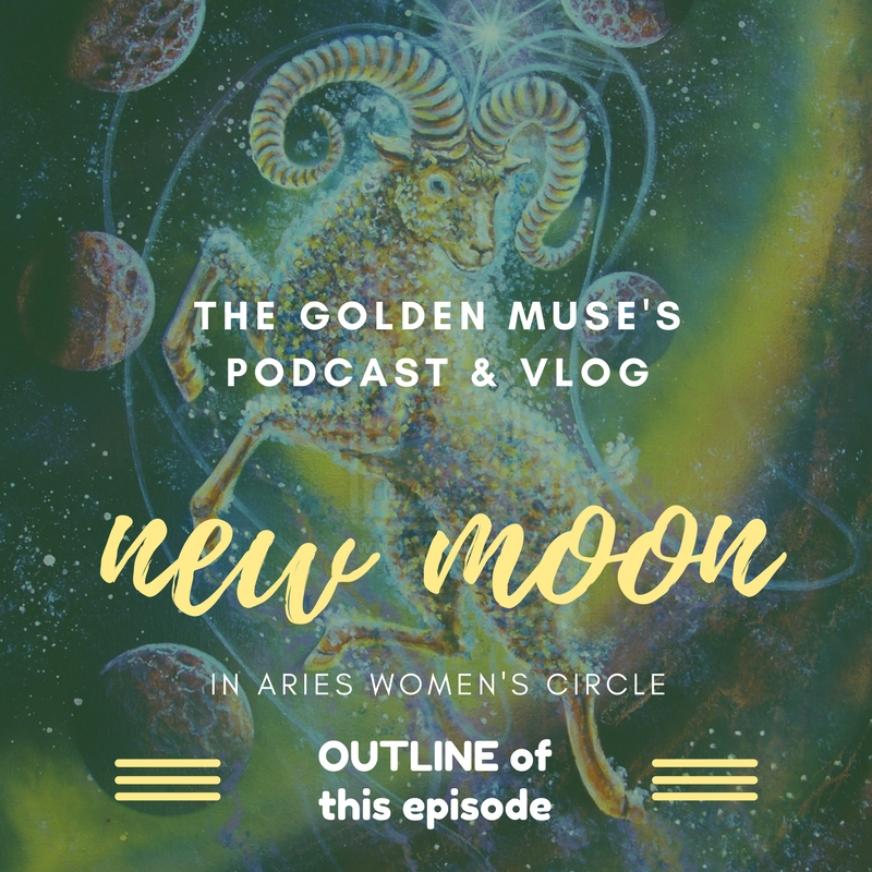NEW MOON IN ARIES VLOG