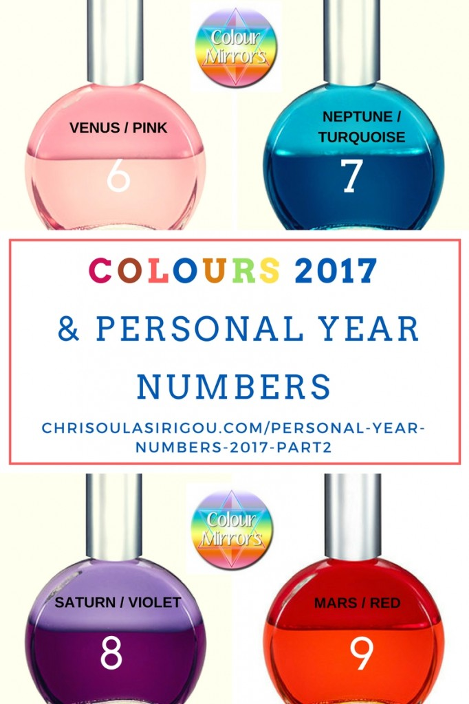 PERSONAL YEAR NUMBERS 2017 PART2