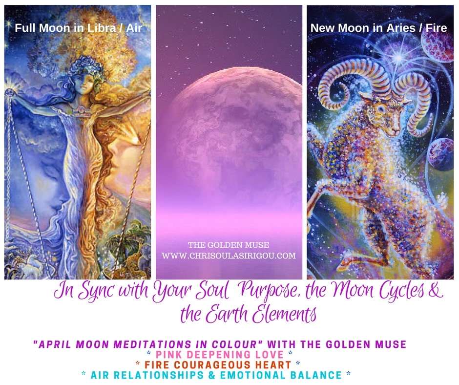 APRIL MOON MEDITATIONS IN COLOUR