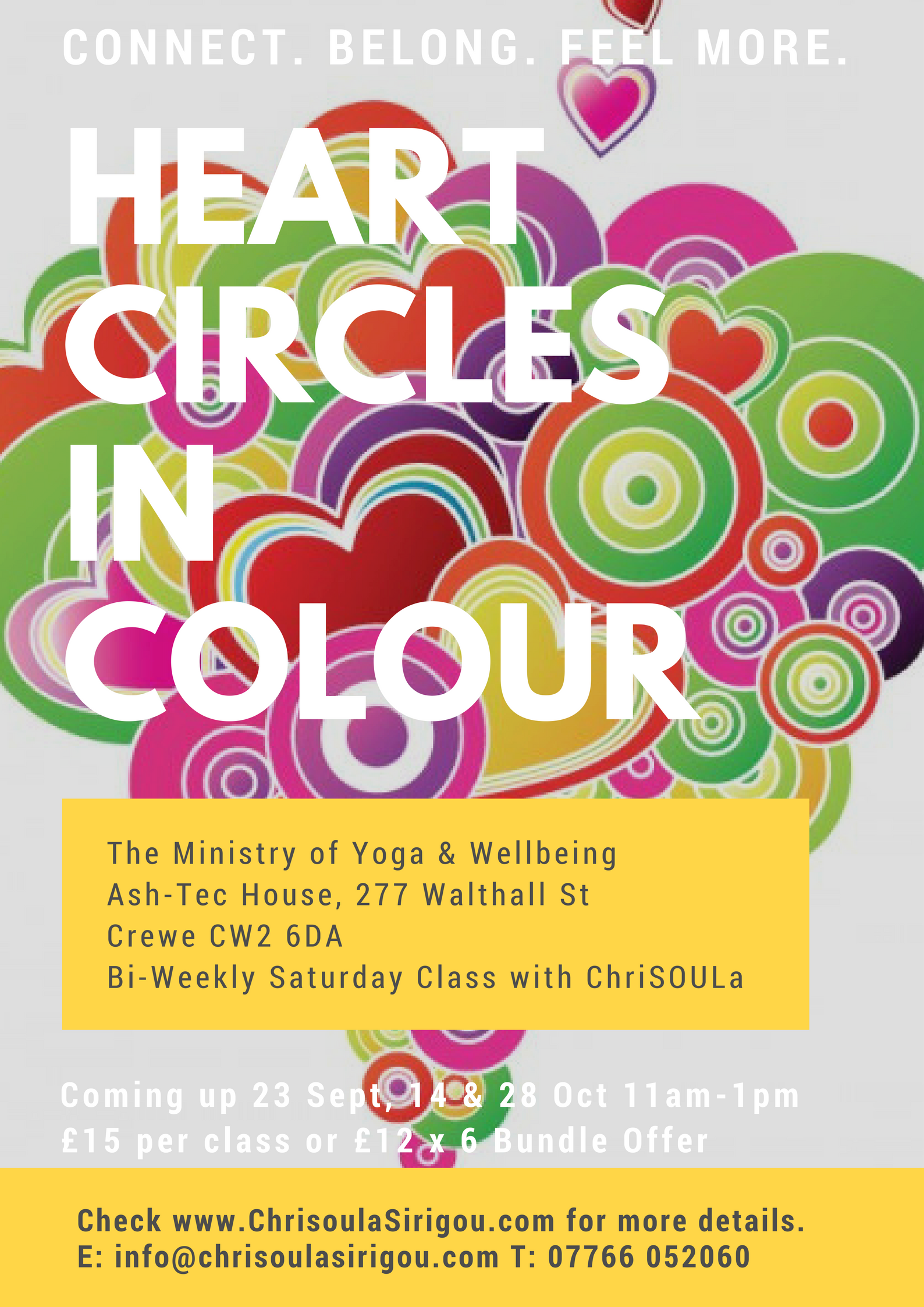 Heart Circles in Colour Upcoming class
