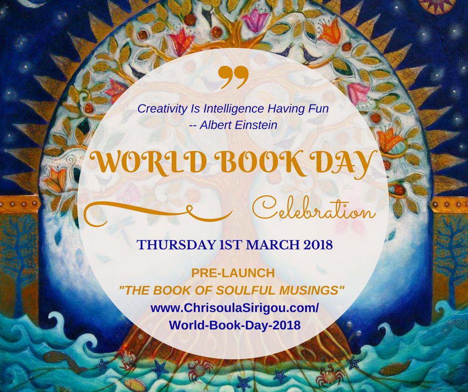 world book day 2018 tree image
