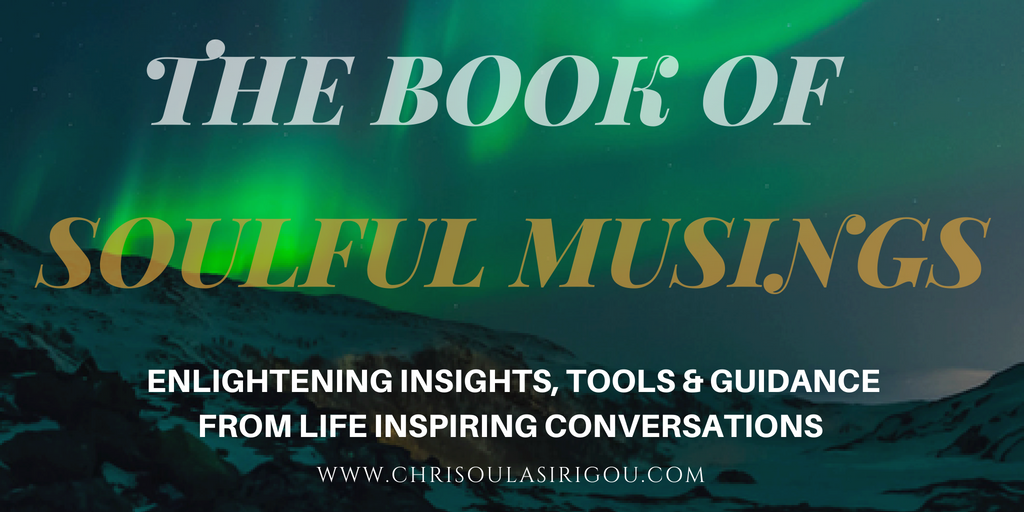 The Book of Soullful Musings website banner