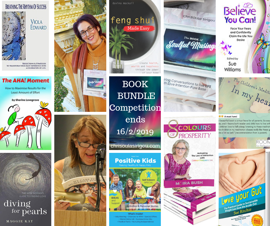 Book Bundle Competition starts 28 Jan ends 16 Feb