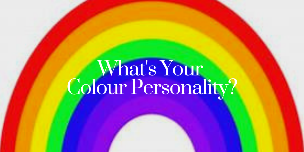 colour personality poster