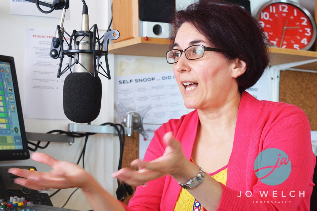 Chrisoula on the radio Book PreLaunch