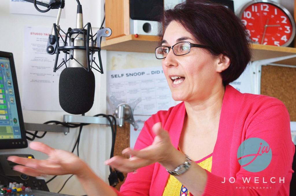 Chrisoula on the radio Book PreLaunch