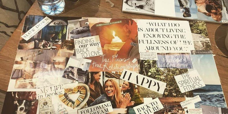 vision board image example