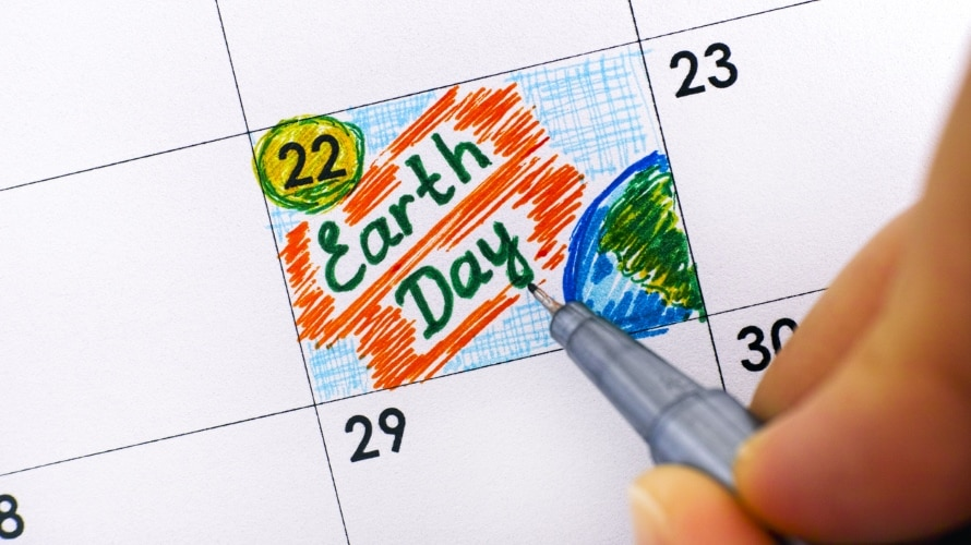 EarthDayOnCalendar