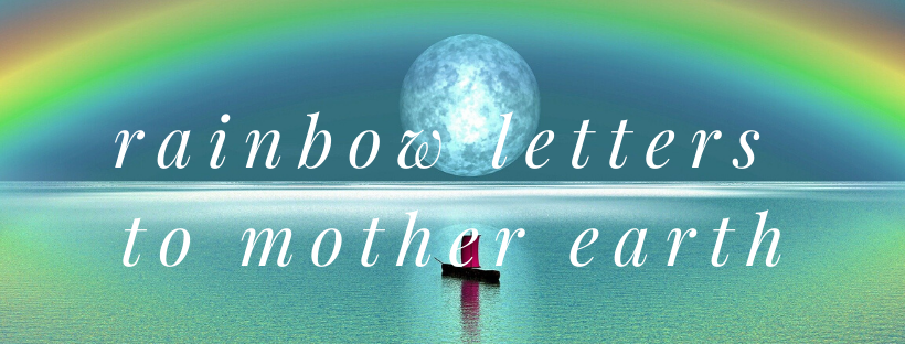 rainbow colours to mother earth FB Cover