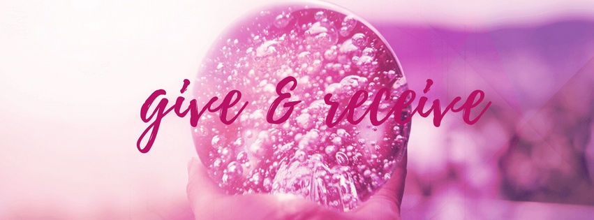 give and receive pink ball
