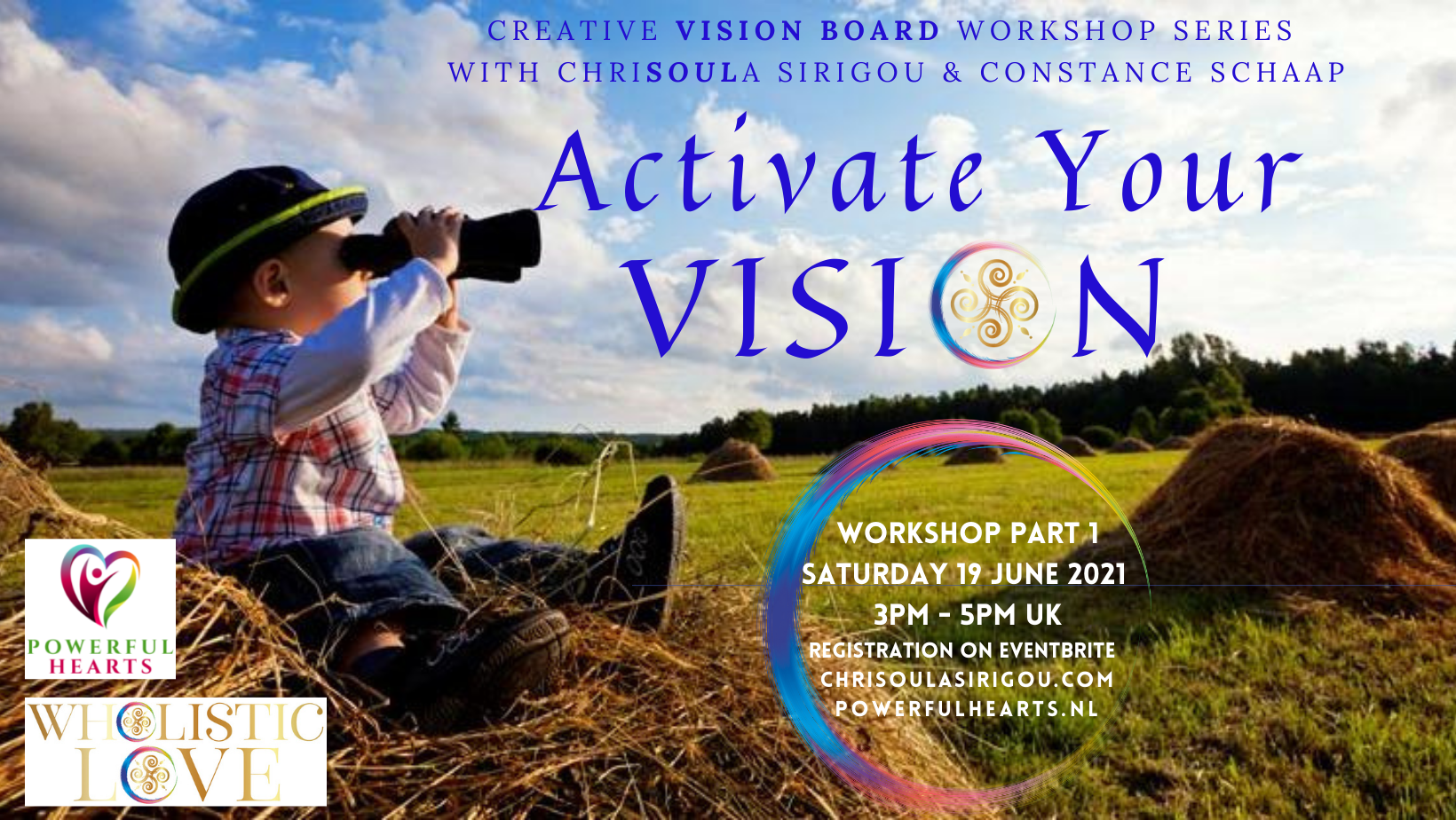 Activate Your Vision Workshop Part One